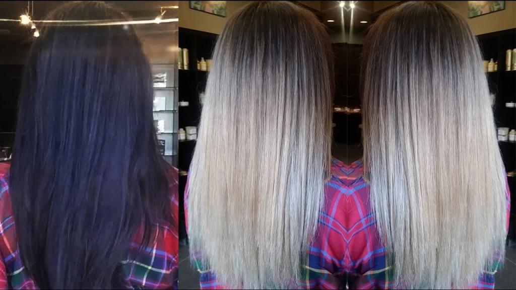 как перекрасить волосы из темного в светлый без смывки