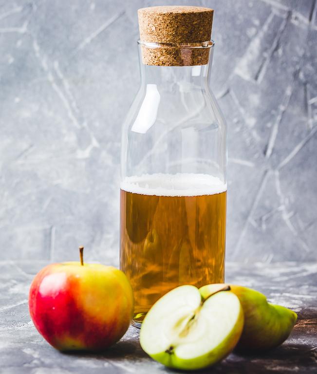 Ополаскивание яблочным уксусом