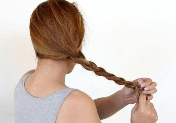 греческая коса