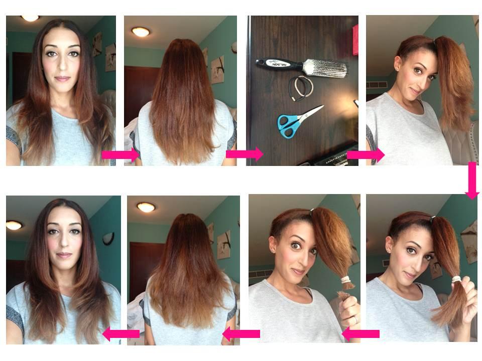как подстричь волосы самой себе ровно