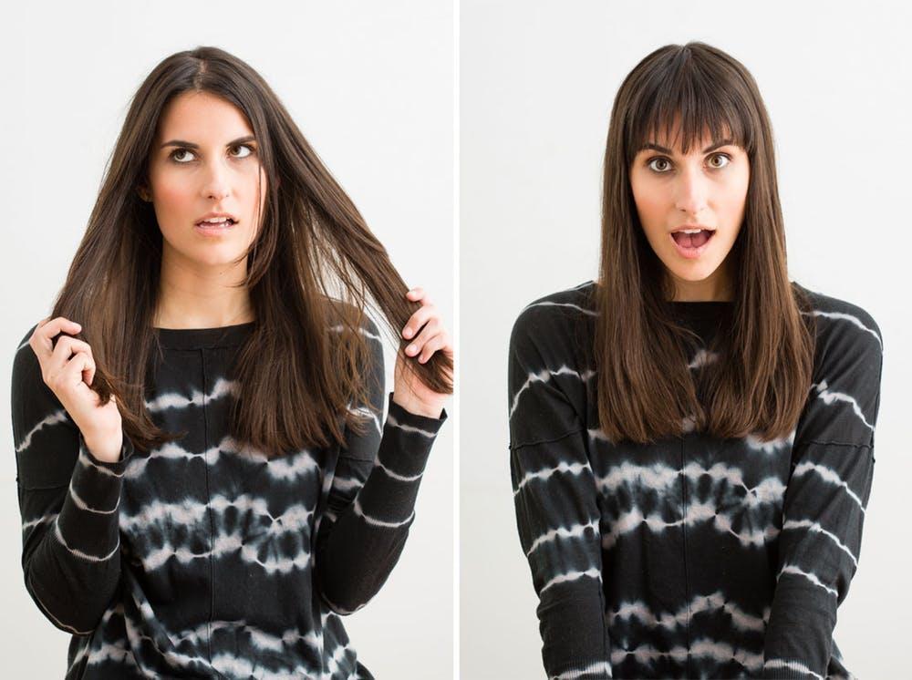 как самостоятельно подровнять волосы