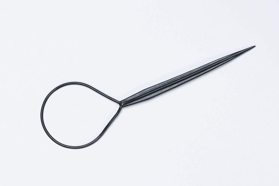 Прически с помощью петельки для волос