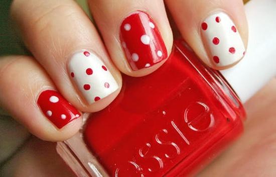 Дизайн ногтей красный: идеи маникюра в красных тонах - Janet.ru