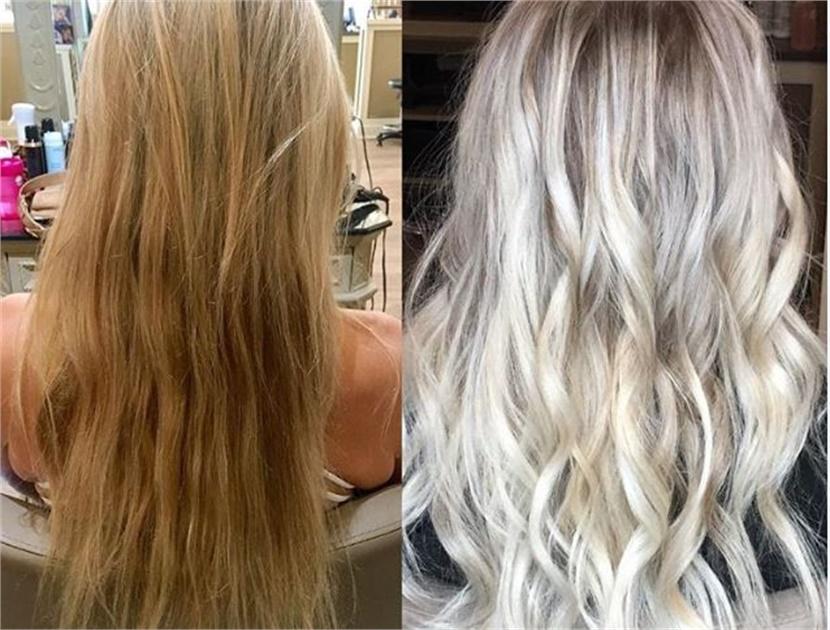 тонировка волос после осветления