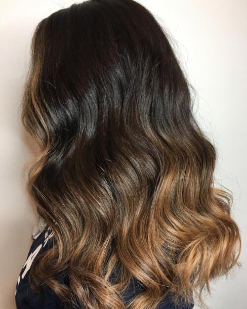 Красивая покраска волос для русых