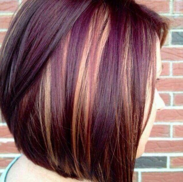 колорирование на темные волосы фото