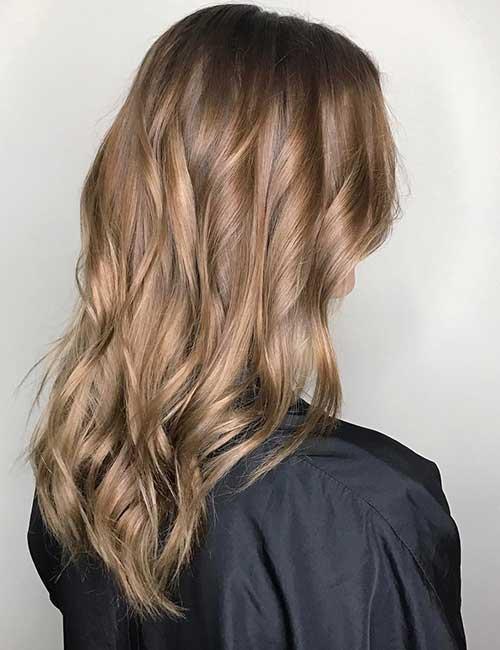 колорирование волос на русые волосы
