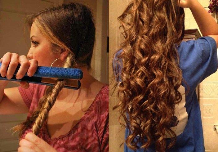 Средние и длинные волосы