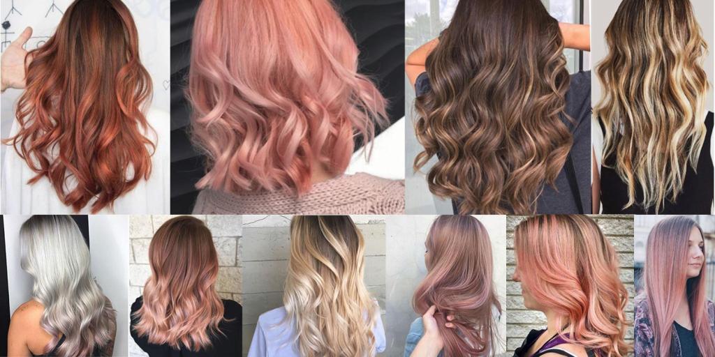 Как выглядит балаяж на разных волосах