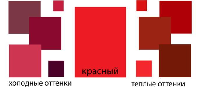 Красная палитра